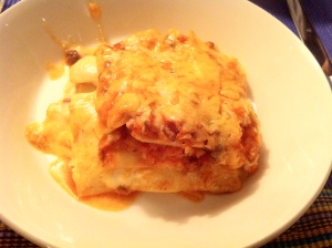 Mama's lasagne