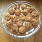 Mini appel kaneel muffins